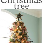 A Country Plaid And Burlap Christmas Tree The Turquoise Home