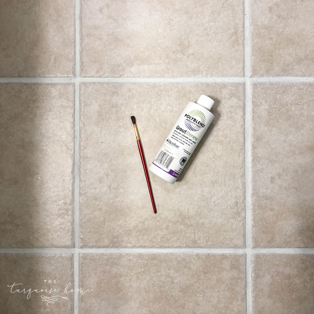 the best grout refresh with grout paint