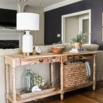 How To Style A Console Table Behind A Couch 4 Ways The Turquoise Home