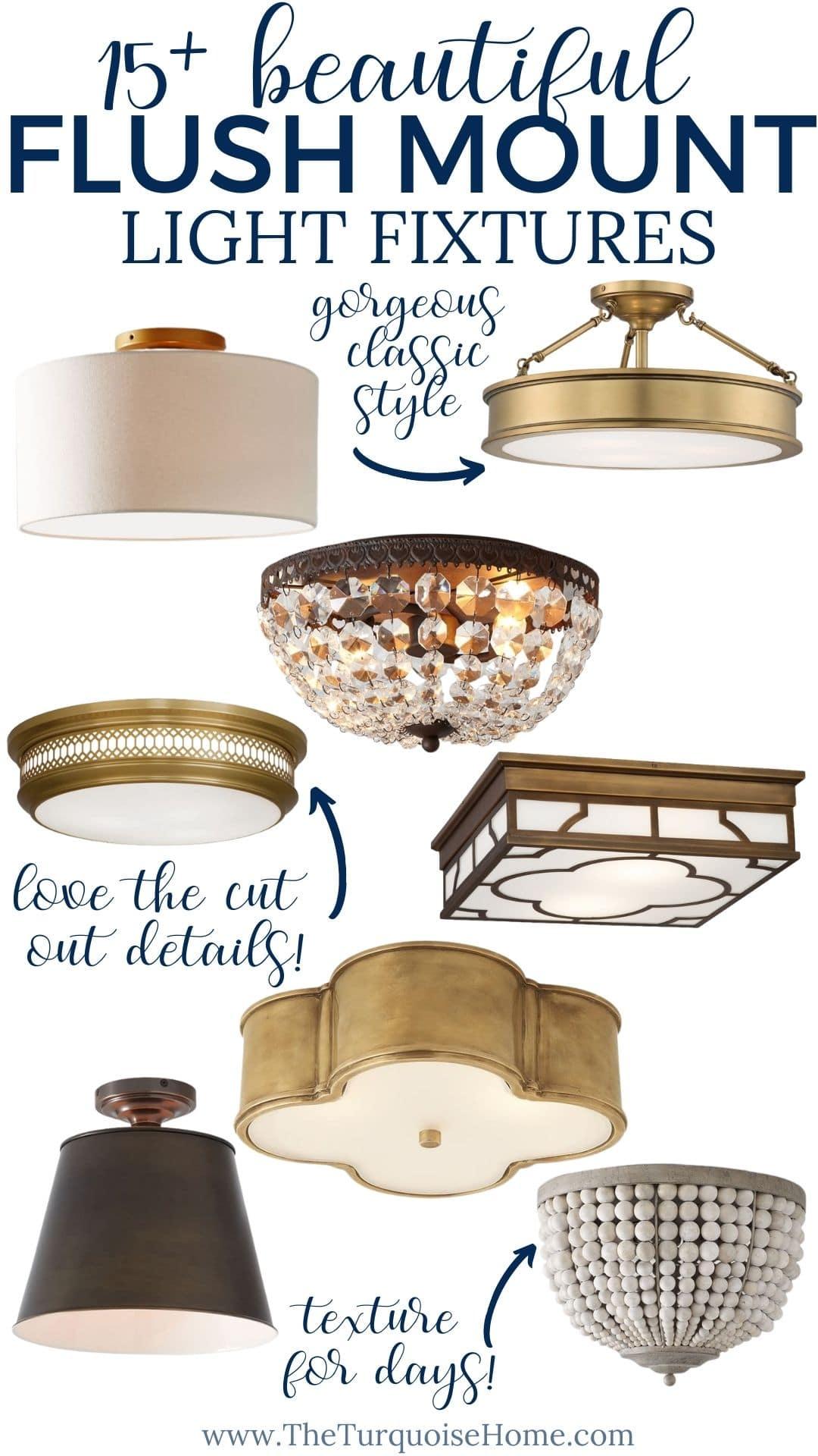 15 flush mount lighting ideas for your