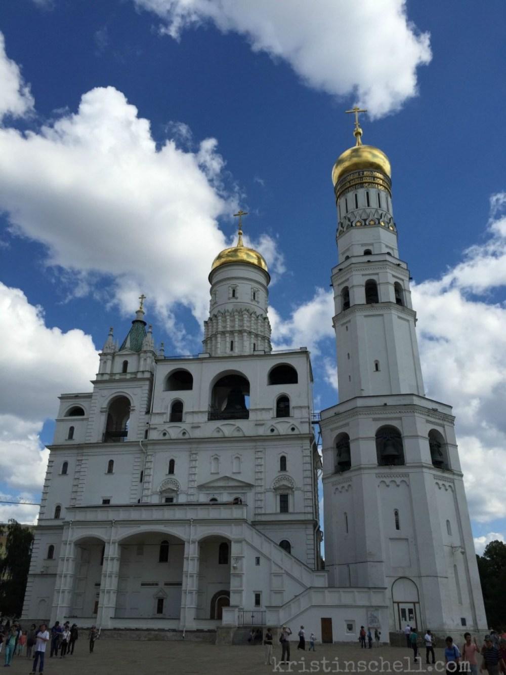 Ivan The Great Bell Tower Kremlin Moscow   kristinschell.com