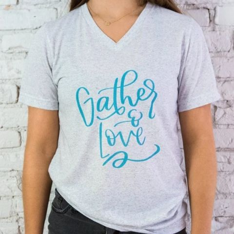Gather & Love T-shirt - The 2019 Turquoise Table Gift Guide