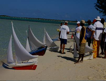 Valentine's Day Cup - A Favorite Turks And Caicos Tradition And They're Off!
