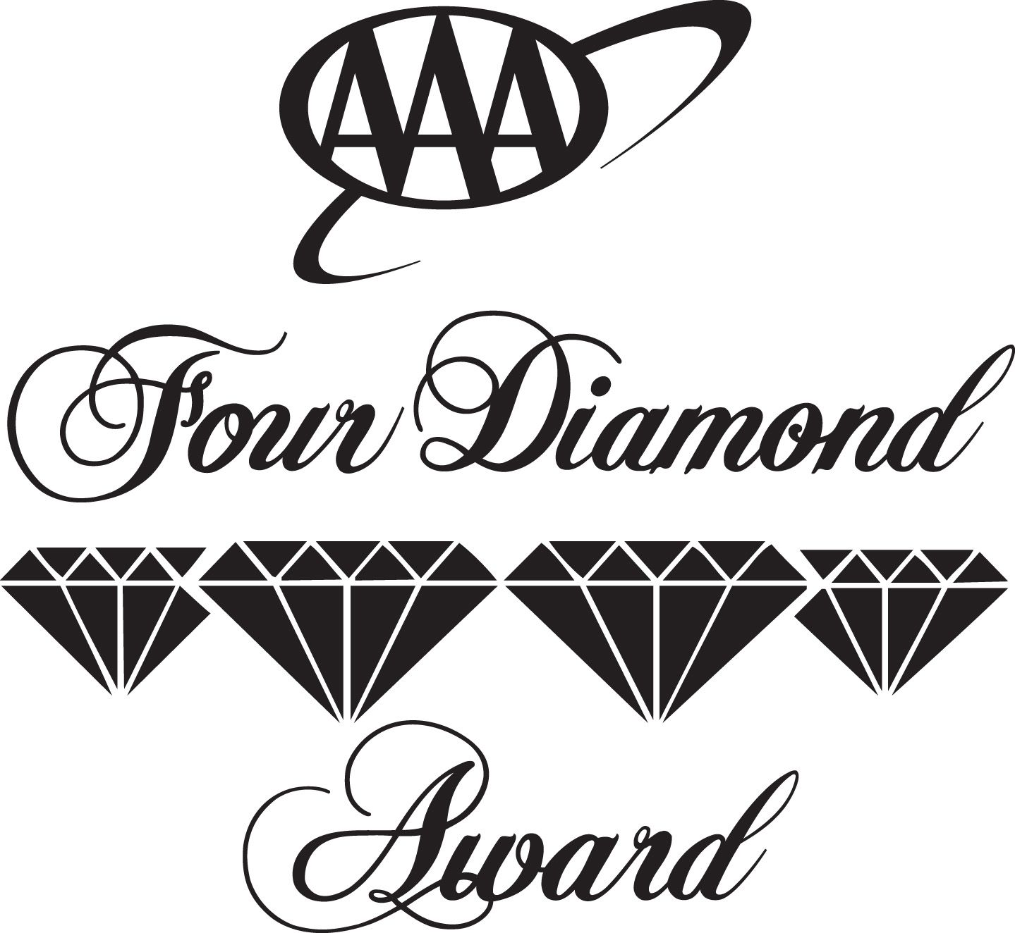The Tuscany Four Diamond Rating From AAA – 2012