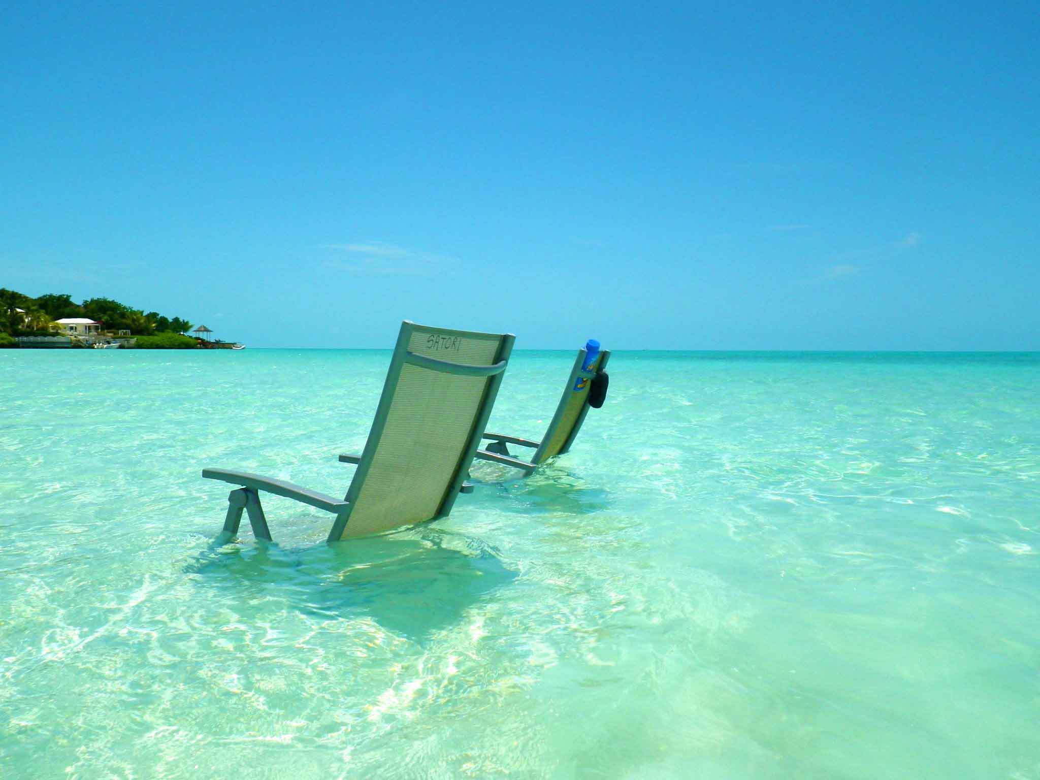 Grace Bay Chairs On The Beach