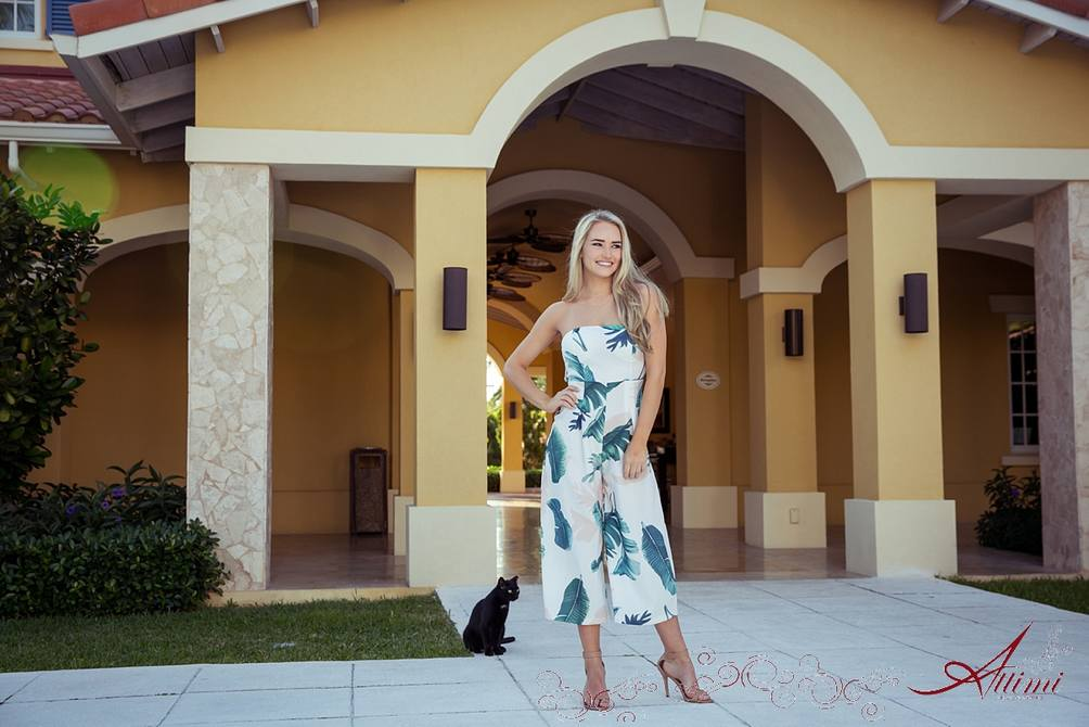 Photo Shoot At Tuscany For The Red Dress Boutique