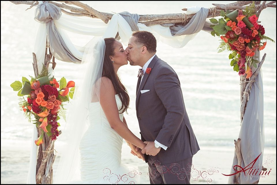 Tropical Caribbean Beach Wedding Lindsey & Jonathan