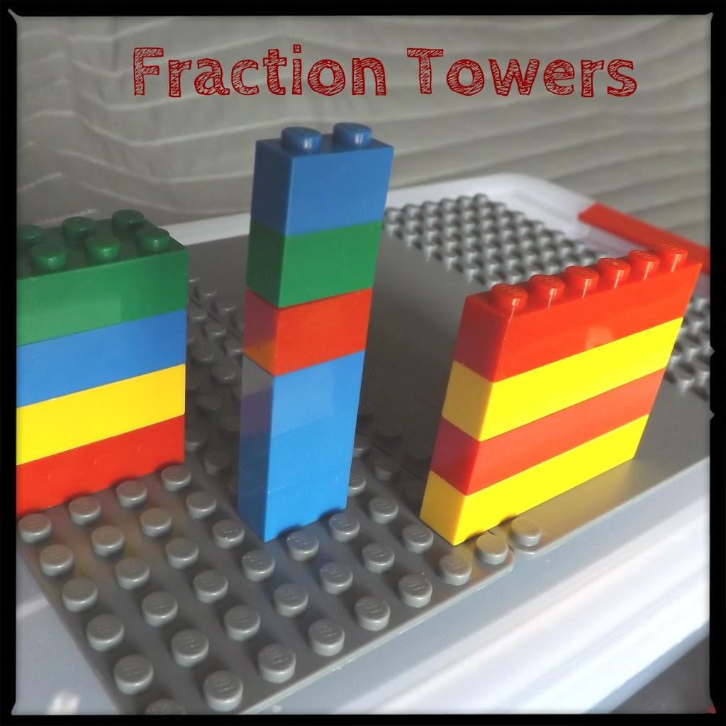 Lego Math Part 3 Fractions