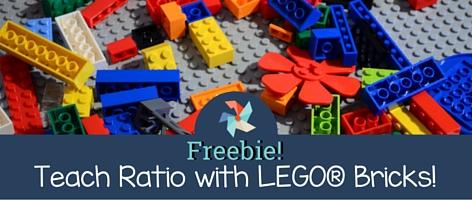 Teach Ratio with LEGO Bricks!