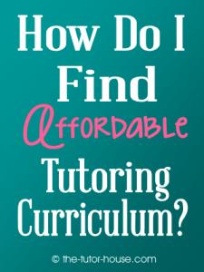 tutoringcurriculum