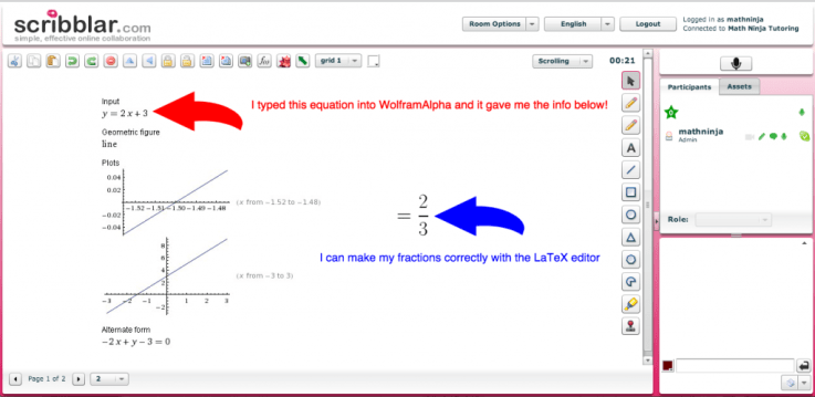 Scribblar LaTeX example image