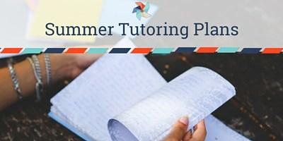 Summer Tutoring Plans