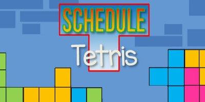Schedule Tetris