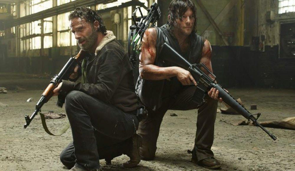 Walking Dead's Rick,Daryl-Season 5
