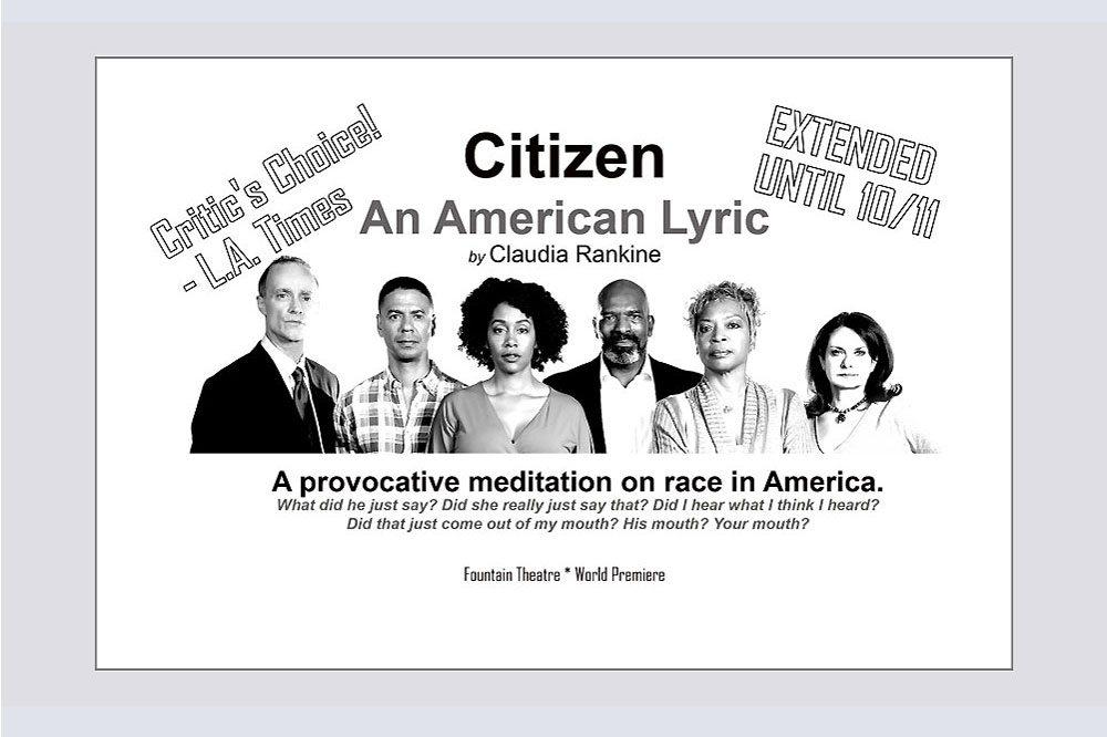 Citizen An American Lyric promo card