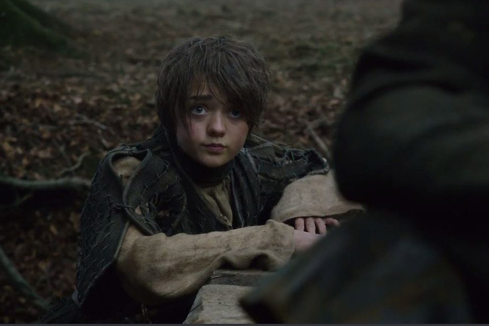 Maisie Williams as Arya Stark-GOT-S5