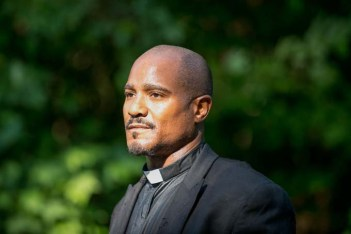 Walking Dead's Father Gabriel-Season 5