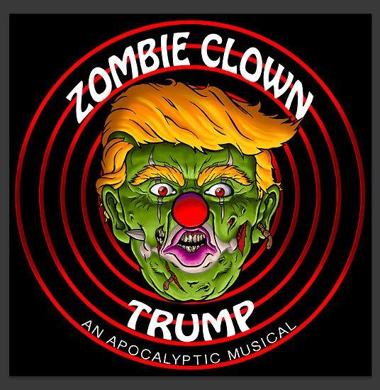 Fringe 2017-Zombie Clown Trump