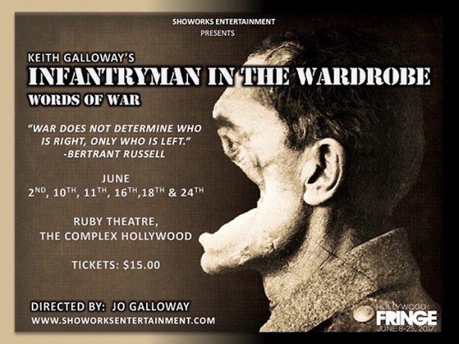 Infantryman-Wardrobe-Fringe Festival 2017