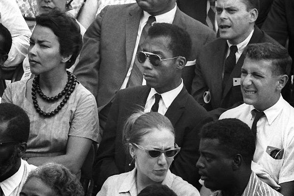 James Baldwin - Photo by Dan Budnik