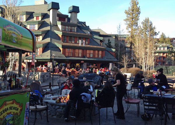 Apres-ski at Heavenly Village, Lake Tahoe