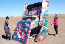 Cadillac Ranch, Amarillo, TX