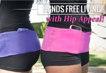Hands-free traveling with Hip Appeal hip wrap