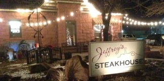 Jeffrey's Steakhouse in Moab, Utah