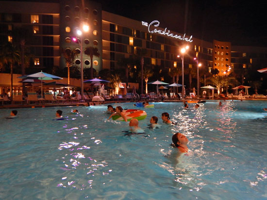 Pool at Cabana Bay Beach Resort Universal Orlando