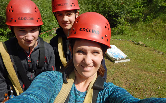 Zip lining and kayaking are the tip of the iceberg at Ace Adventure Resort, WV