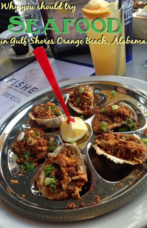 So may fresh, delicious seafood options in Gulf Shores Orange Beach, AL