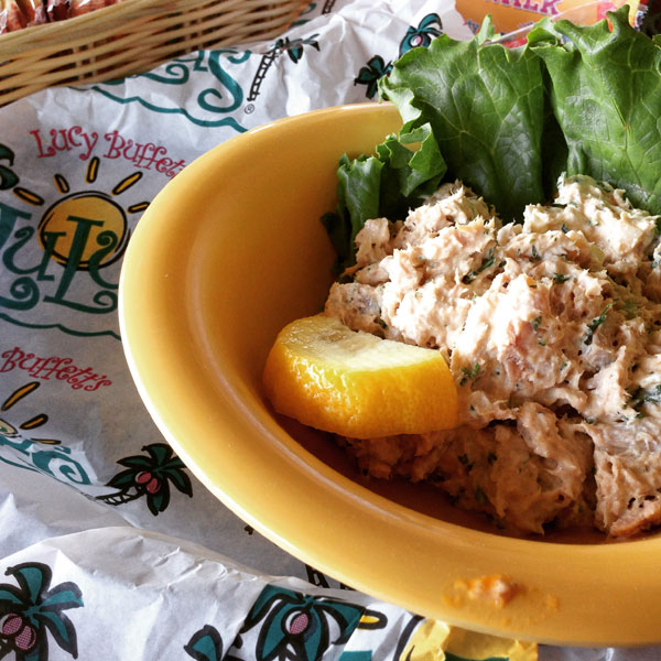 Smoked tuna dip - get it at LuLu's in Gulf Shores, Ala.