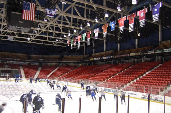 "Ice skate on the ""Miracle on Ice"" rink in Lake Placid, NY."