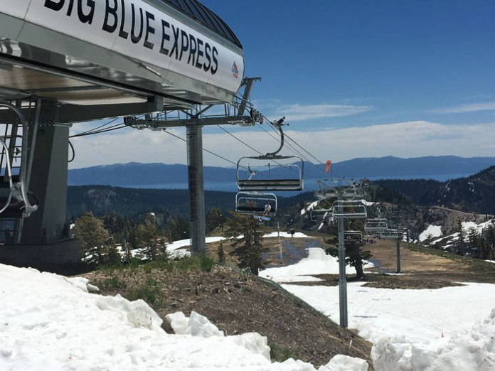 Squaw Valley, CA, spring skiing capital