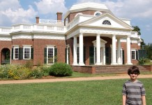 Monticello - Thomas Jefferson's home in Charlottesville, VA.