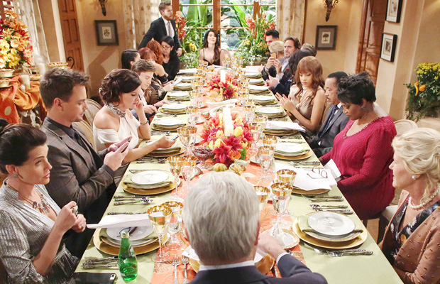 bold and the beautiful thanksgiving 2017