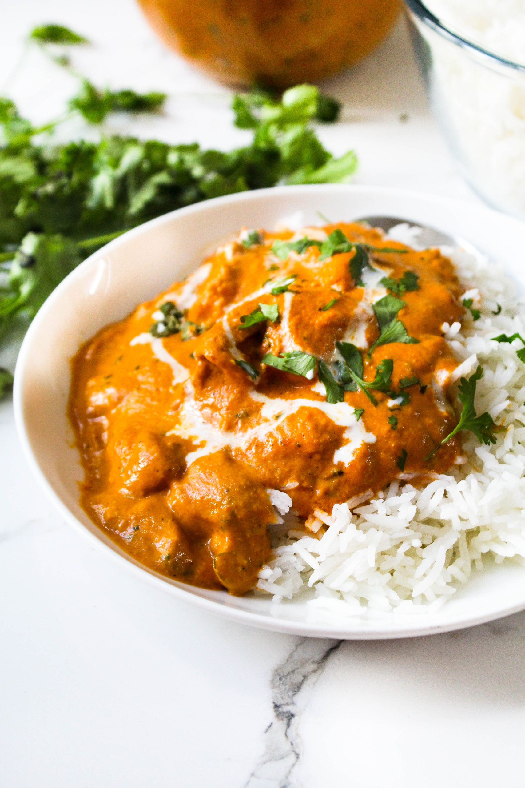 Indian Butter Chicken Murg Makhani Recipe The Twin Cooking Project By Sheenam Muskaan