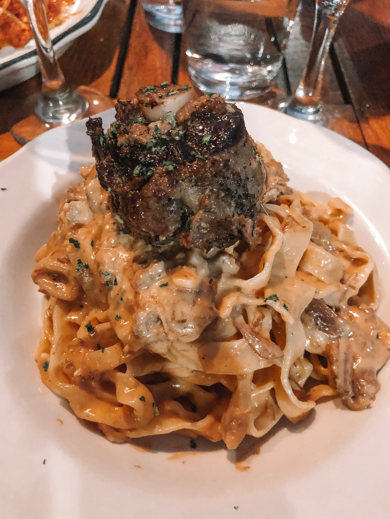 Lamb pasta, Best restaurants in little italy san diego