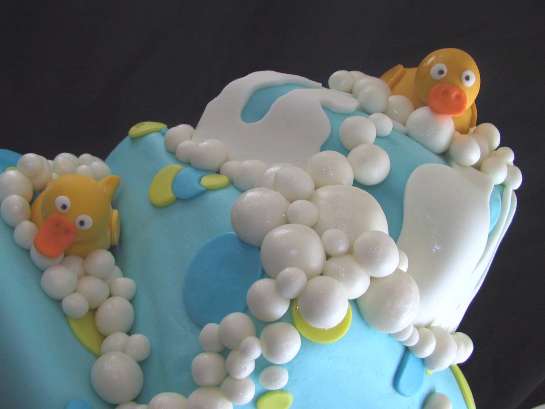 duck cake top