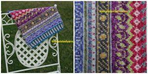 free pattern stranded fair isle cowl Stylecraft Batik