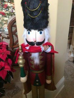 Elf on the Shelf in Nutcracker Mouth