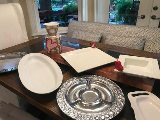 Serving Pieces by Mud Pie, Wilton Armetale, Nora Fleming and Mud Pie