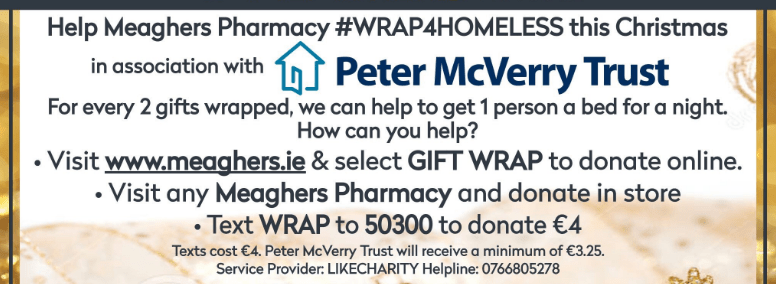 irish beauty gifts gifts from irish beauty brands meaghers pharmacy #wrap4homless