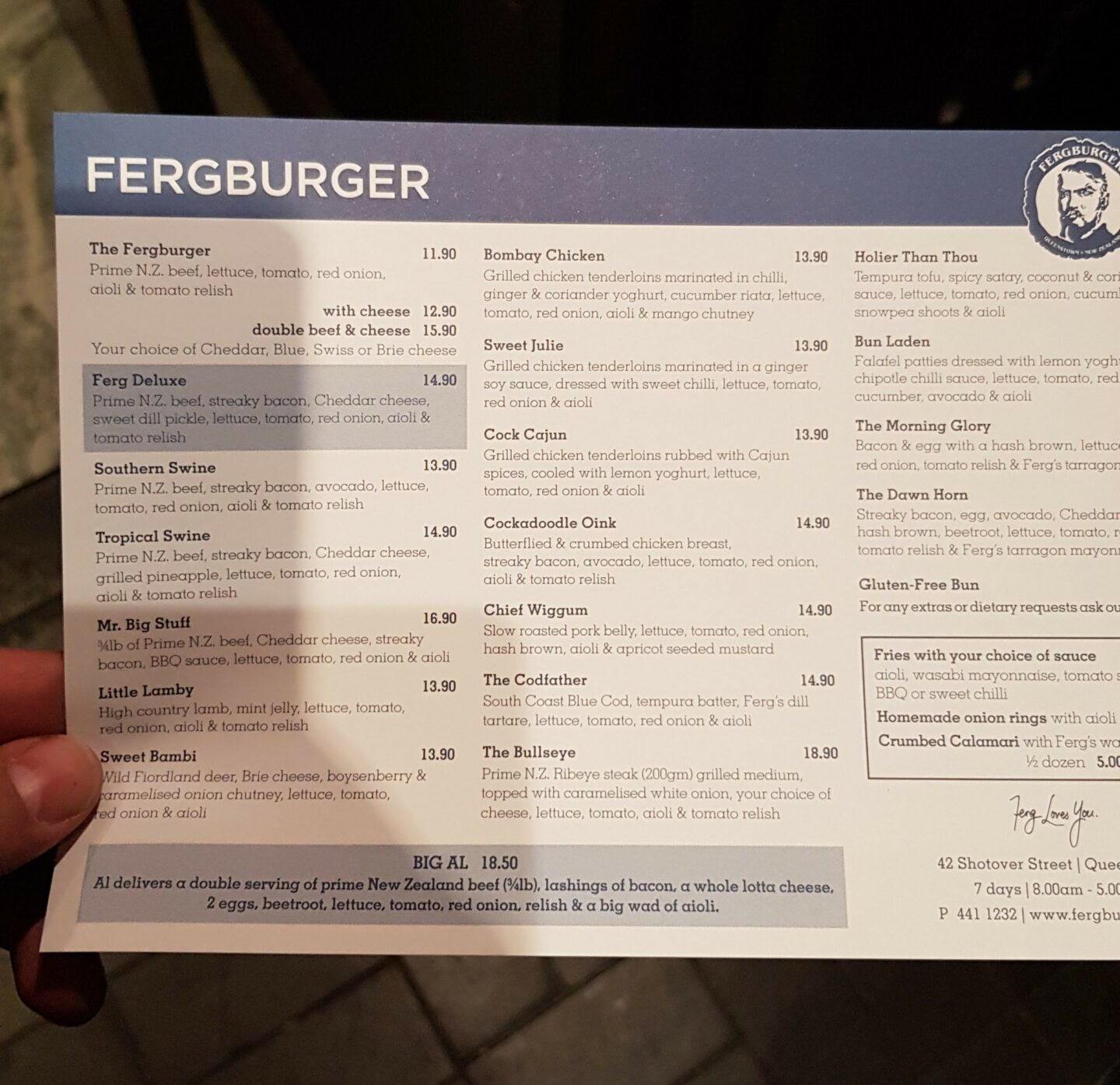 Ferg Burger Review