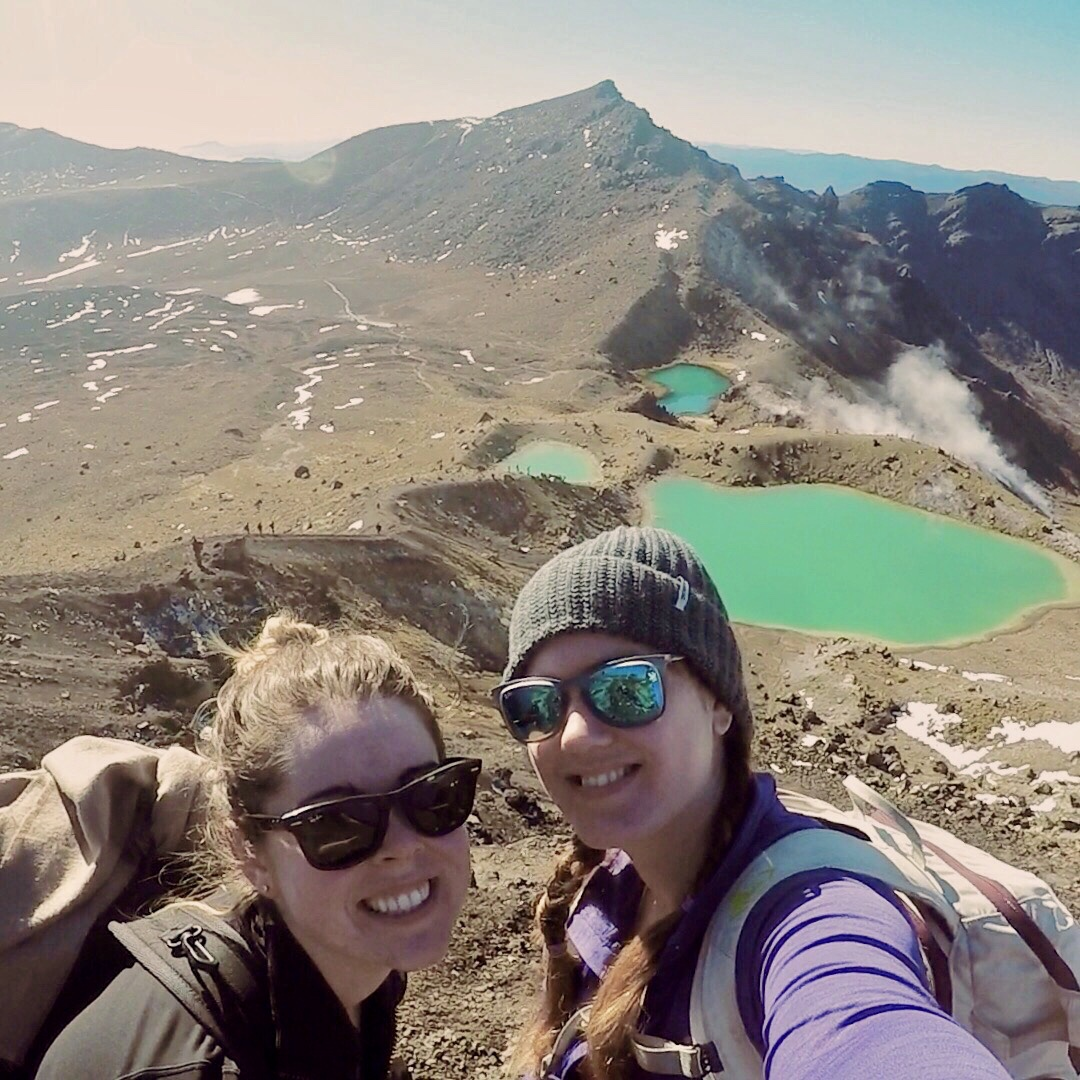 Tongariro Crossing hike New Zealand The Two Travelled