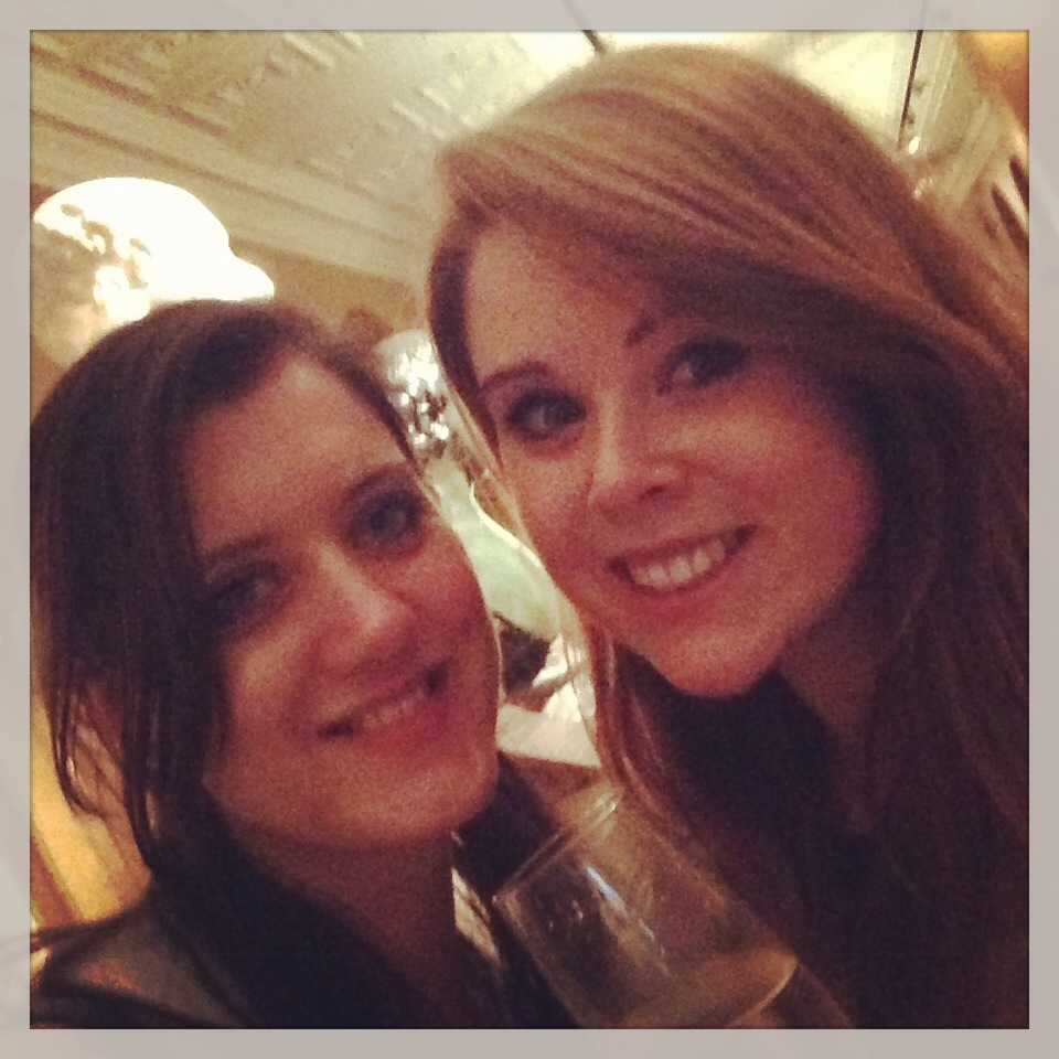 Sarah Gibbons and Nicole Canning at V&A Pearls and Ponds Event