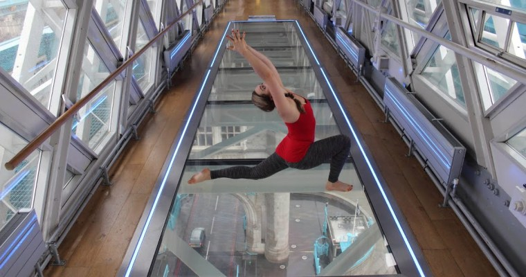 The London Scoop: Yoga on Tower Bridge's Glass Floor