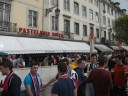Newcastle fans invade Lisbon