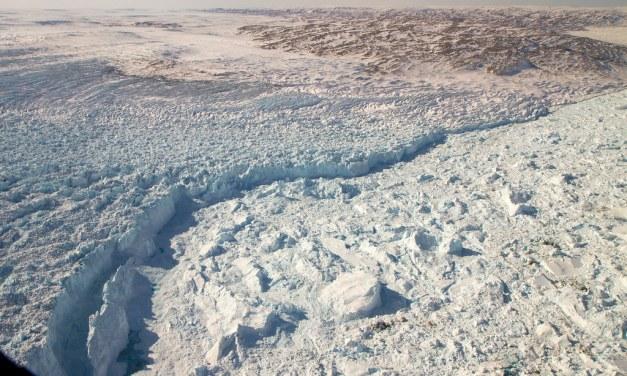 Giant Glacier Slams on the Brakes