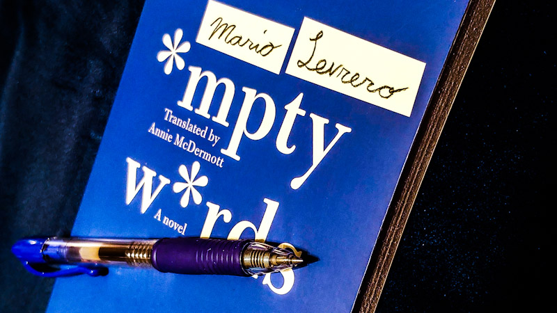 The Poetry of Handwriting in Mario Levrero's Empty Words